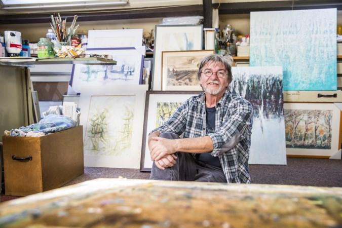 Kunstenaar Jan Althuizen heeft al vijftig jaar De Peel als muze