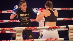 Kickbokskampioen Sheena Widdershoven 'wil ook wel eens zielig zijn'