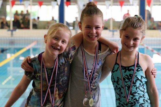 Medailleregen voor zwemmers Patrick-De Roersoppers