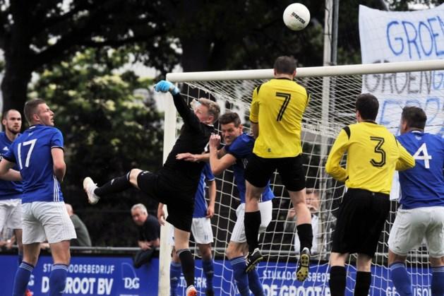 Geen titel voetballers SSS'18 na verlies, focus op nacompetitie