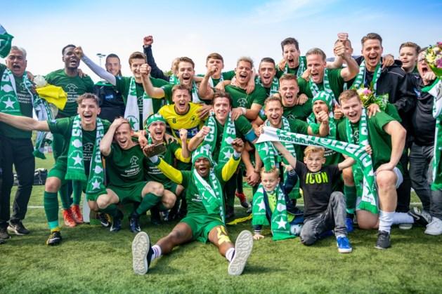 Groene Ster promoveert voor het eerst in de historie naar derde divisie