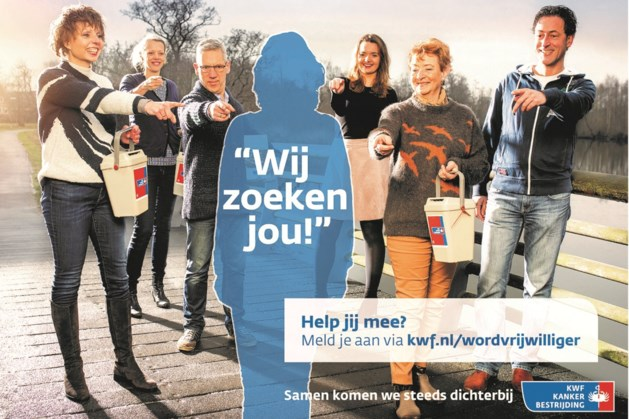 KWF-collecteweek in Maasbracht zoekt coördinatoren