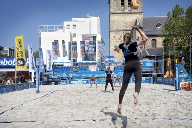 Beachvolleybal: Steeds vaker een stukje strand op het stadsplein