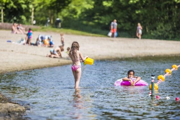 Strandbad Kasteelse Bossen is open