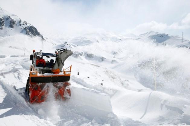 Recordhoeveelheid sneeuw verwacht in de Alpen