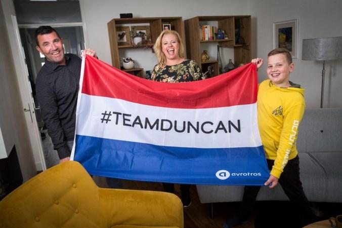 De trotse familie van Duncan: 'Ik heb geschreeuwd en gehuild'