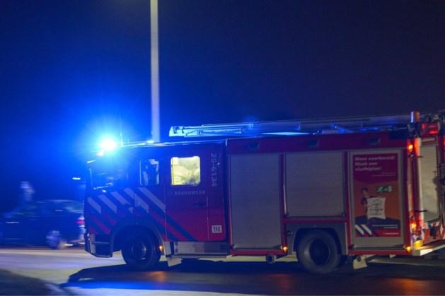 Schuur in Margraten ingestort door brand