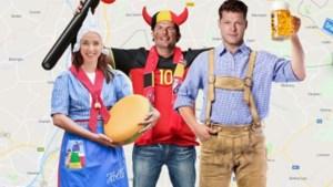 'De Coen en Sander Show' live vanaf het drielandenpunt in Vaals