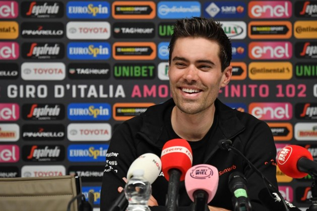 Tom Dumoulin: De Giro aftrappen, dat is best cool