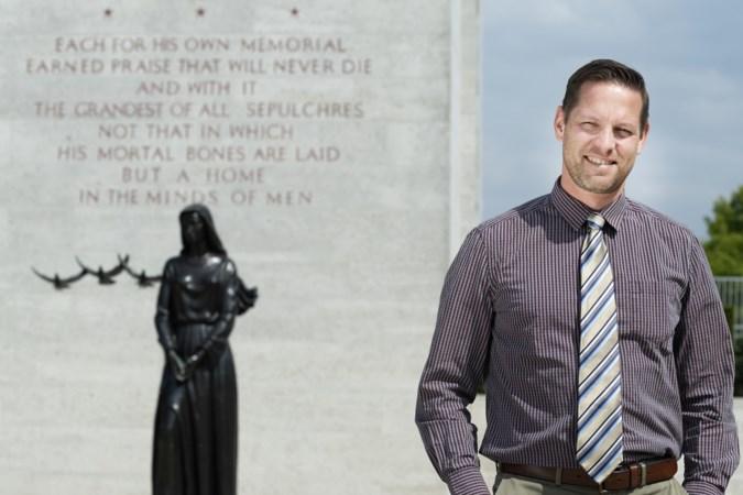 Superintendent Shane Williams: 'Geen van de begraafplaatsen is zoals die in Margraten'
