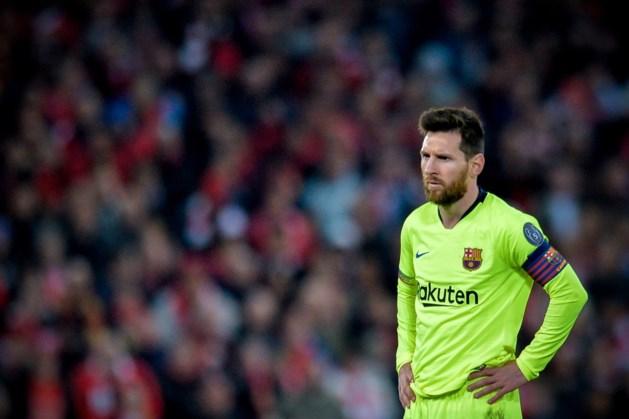 Zesde Gouden Schoen laat Messi koud