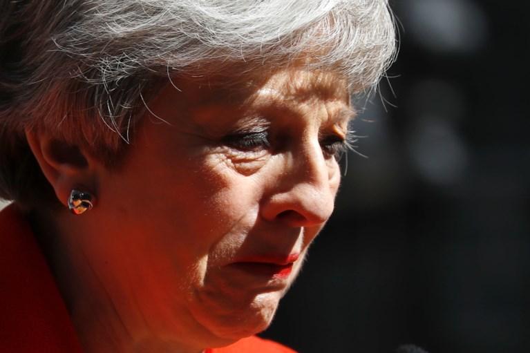 Britse premier May stapt op