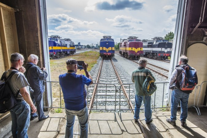 Treinliefhebbers op Rail&Road Event Blerick hebben spoorrails in plaats van bloedvaten