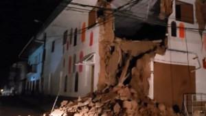Zeer zware aardbeving met kracht 8.0 in Peru
