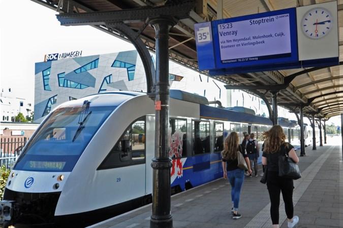 Extra spitstrein op Maaslijn, maar Boxmeer verliest aansluiting