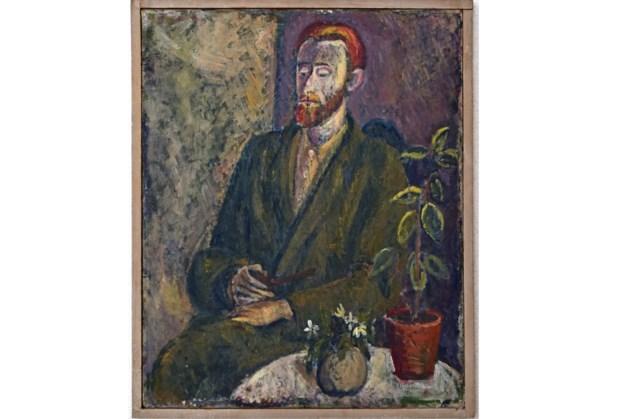 Expositie literair werk, aquarellen en tekeningen van Jan Hanlo in Museum Valkenburg