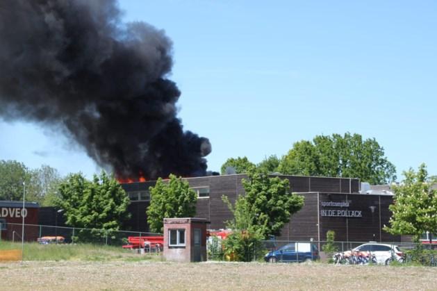 Sporthal Oirsbeek na brand weer snel open