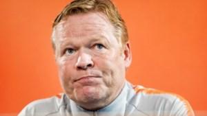 Ronald Koeman blijft Oranje trouw