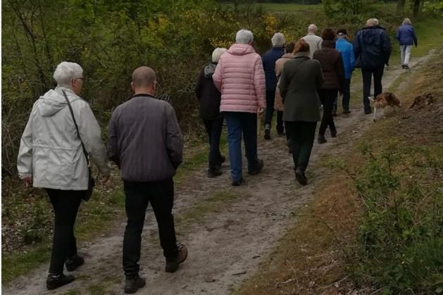 Wandeling voor mantelzorgers van mensen met dementie