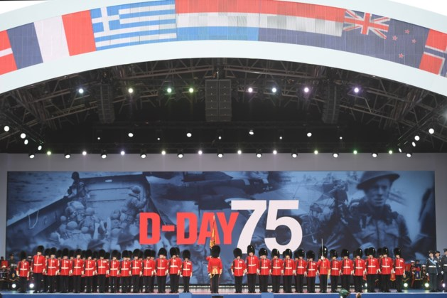 Grote herdenking D-day in Portsmouth