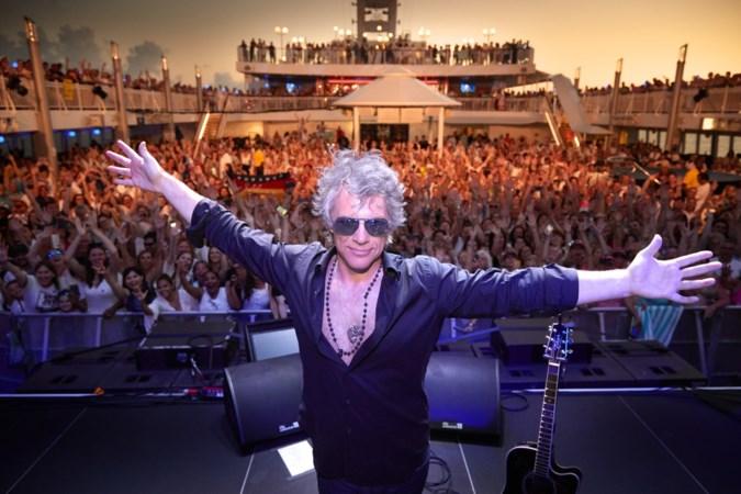 Rocken met Bon Jovi op open zee