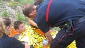 Deelnemer Alpe d'Huzes stort 40 meter in ravijn