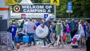 Campings Pinkpop uur later open vanwege noodweer