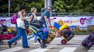 Noodweer blijft uit: Pinkpopgangers verzamelen zich bij campings