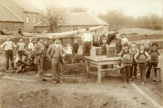 Foto uit de oude doos van Horn