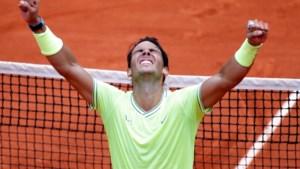 Gravelkoning Nadal blijft op troon met imposante 12de Roland Garros-titel