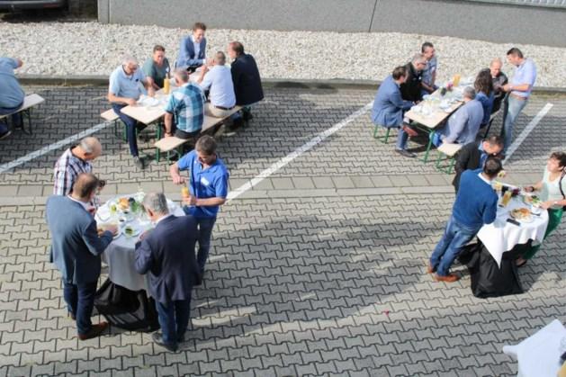 Geslaagd asperge-ontbijt door AspergeGilde Peel en Maas
