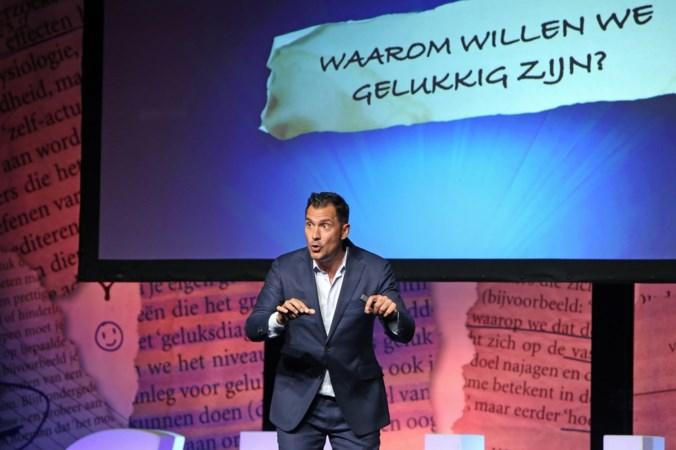 Guido Weijers geeft lessen in geluk, maar noem het geen cabaret