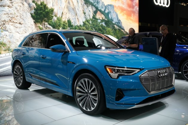 Nieuwe elektrisch model van Audi E-Tron kan in brand vliegen