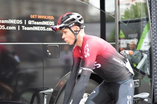 Froome mist Tour de France na zware valpartij in Dauphiné