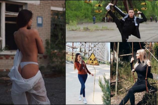 Instagram-modellen uit de kleren bij Tsjernobyl, regisseur serie vraagt om respect