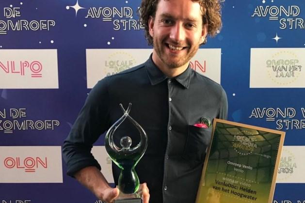 Omroep Venlo wint award met documentaire over hoogwater