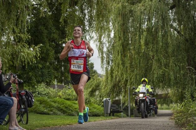Ricardo Floris dicht bij PR tijdens eerste Halve Marathon Maastricht Mooiste