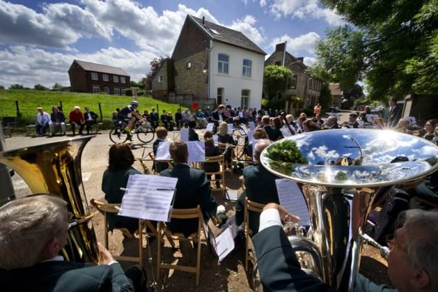 Drumband Sint Gertrudis geeft concert in Klein Gulpen