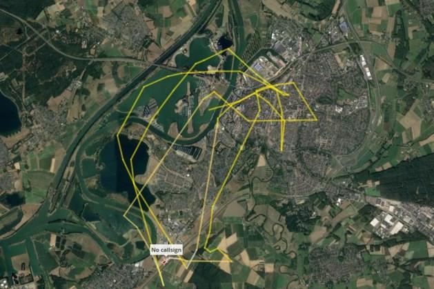 Mysterieuze helikopter cirkelt al twee dagen boven Roermond