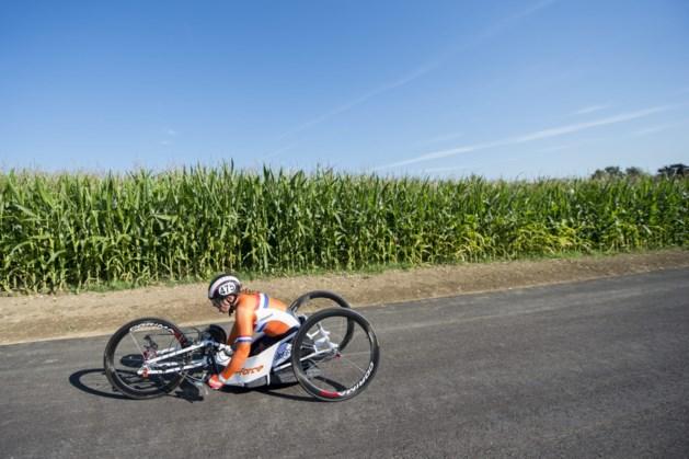 Wegen afgesloten vanwege NK tijdrijden para-cycling