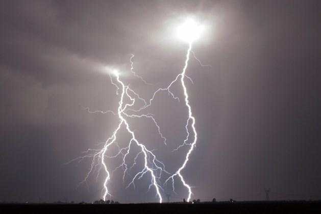 Code geel: kans op pittige onweersbuien en hagel