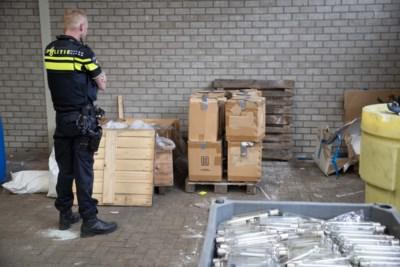 'Grote partij drugs in loods omstreden recyclingbedrijf moet er al jaren hebben gelegen'