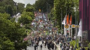 Lange en vrolijke mars in Aken voor het behoud van de planeet