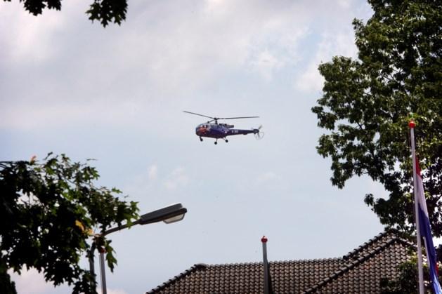 Heuvelland protesteert tegen helikoptervluchten