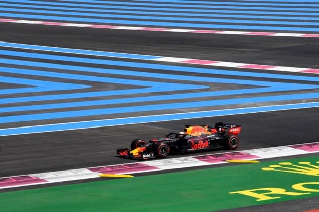Verstappen start in Frankrijk vanaf de vierde plek