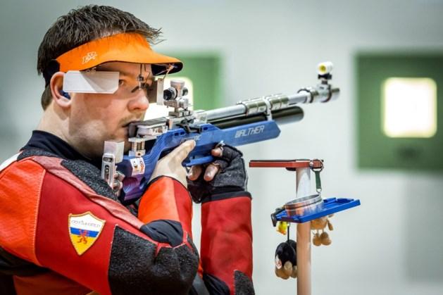 Geen finale gemengd luchtgeweerschieten voor Hellenbrand op Europese Spelen.
