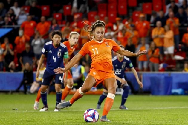 Eindelijk is het de avond van Lieke Martens op WK