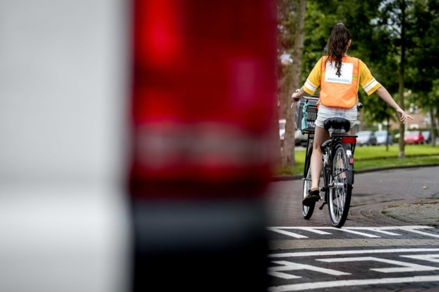 Verkeersles voor basisschoolleerlingen Sint Geertruid