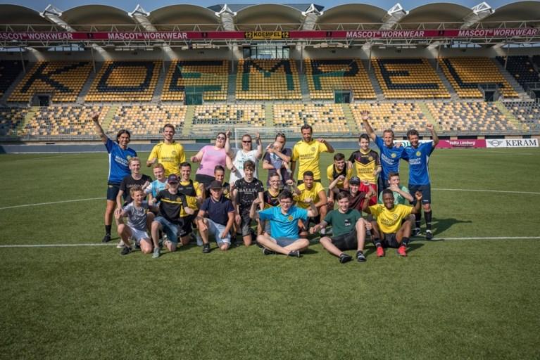 Roda zoekt de fans op tijdens de eerste training