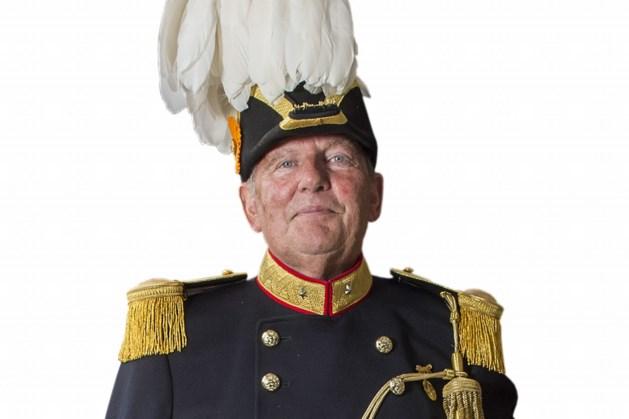 Majoor Jan Hayen schutterij Gronsveld kondigt afscheid aan